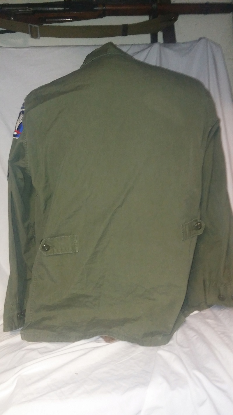 A few Vietnam War era Army Shirts and Jackets 20170377