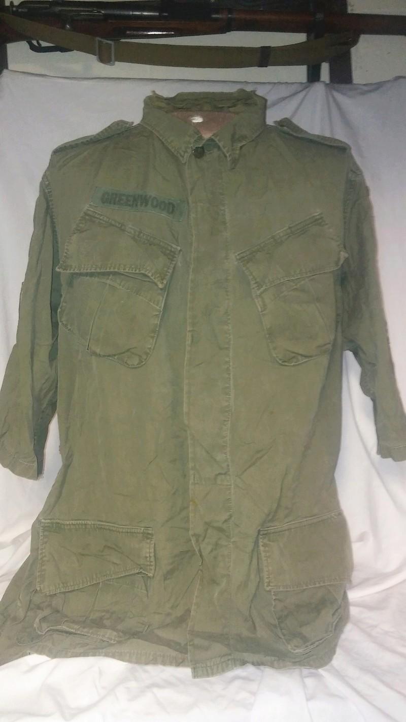 A few Vietnam War era Army Shirts and Jackets 20170379