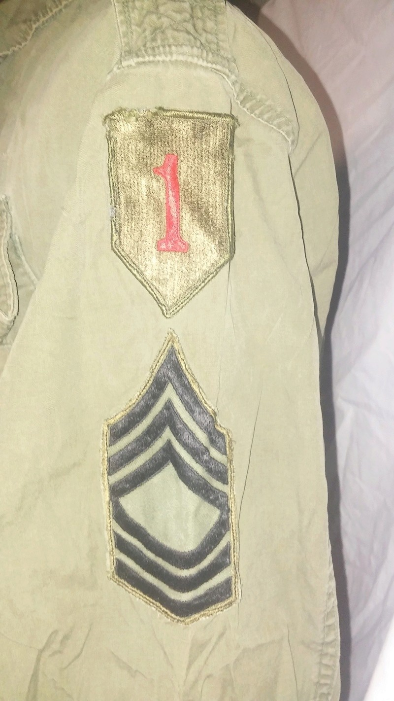 A few Vietnam War era Army Shirts and Jackets 20170381