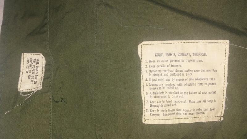 A few Vietnam War era Army Shirts and Jackets 20170389