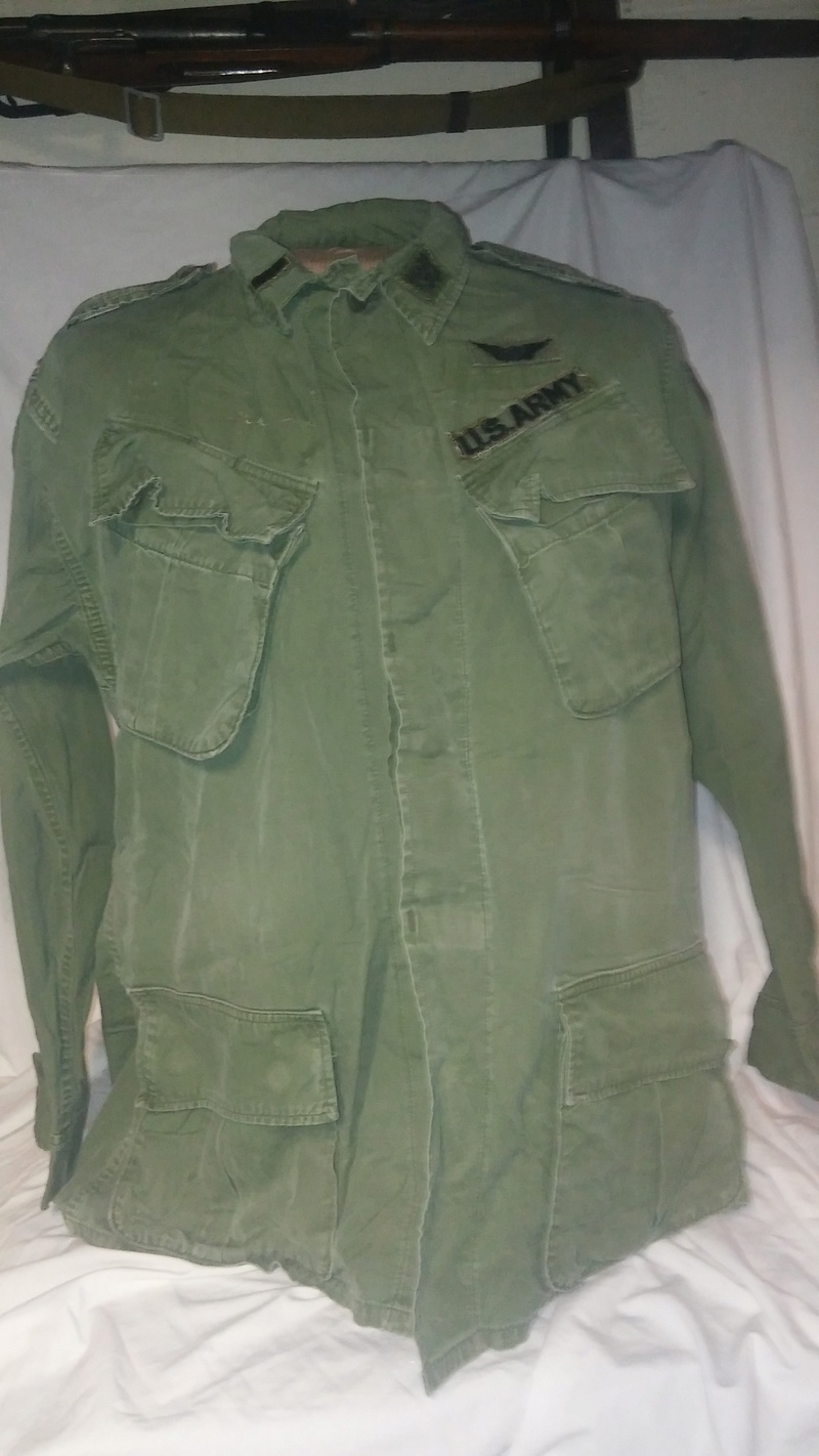 A few Vietnam War era Army Shirts and Jackets 20170397