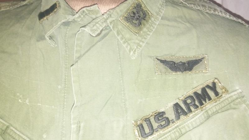 A few Vietnam War era Army Shirts and Jackets 20170398