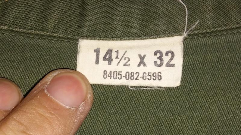 A few Vietnam War era Army Shirts and Jackets 20170670