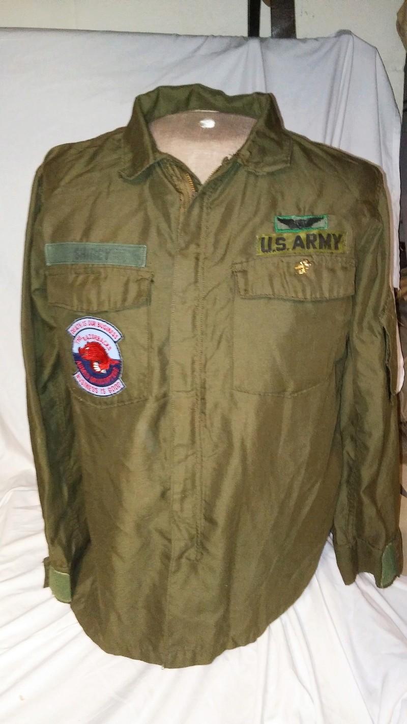 A few Vietnam War era Army Shirts and Jackets 20170677