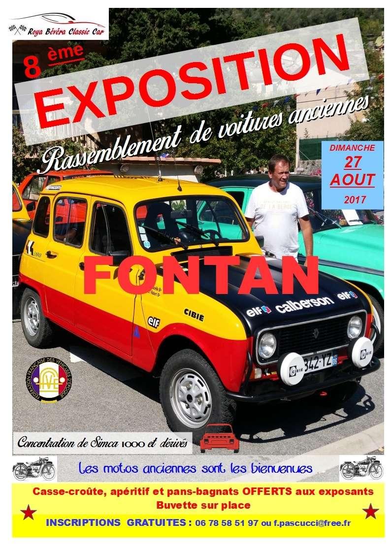 [06][Expo -Rassemblement à FONTAN- C'et le dimanche 27 AOUT  Affich13