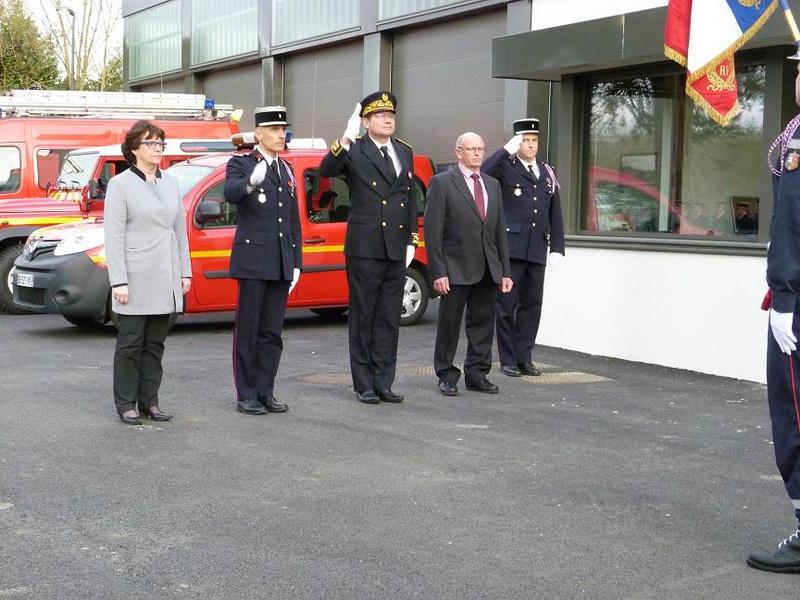 Inauguration du centre d'incendie et de secours de Brasparts 2017_i11