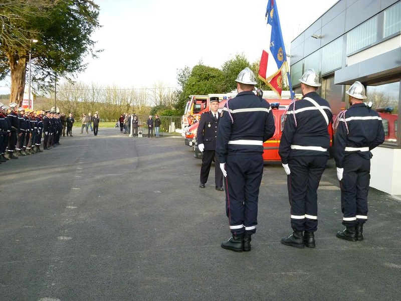Inauguration du centre d'incendie et de secours de Brasparts 2017_i13