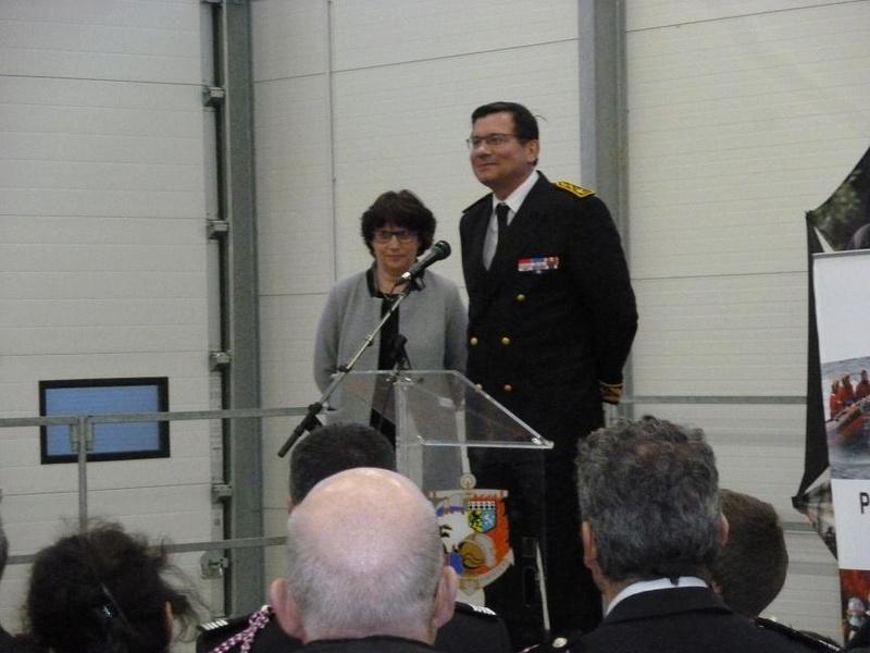 Inauguration du centre d'incendie et de secours de Brasparts 2017_i17
