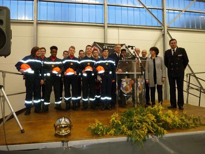 Inauguration du centre d'incendie et de secours de Brasparts 2017_i20