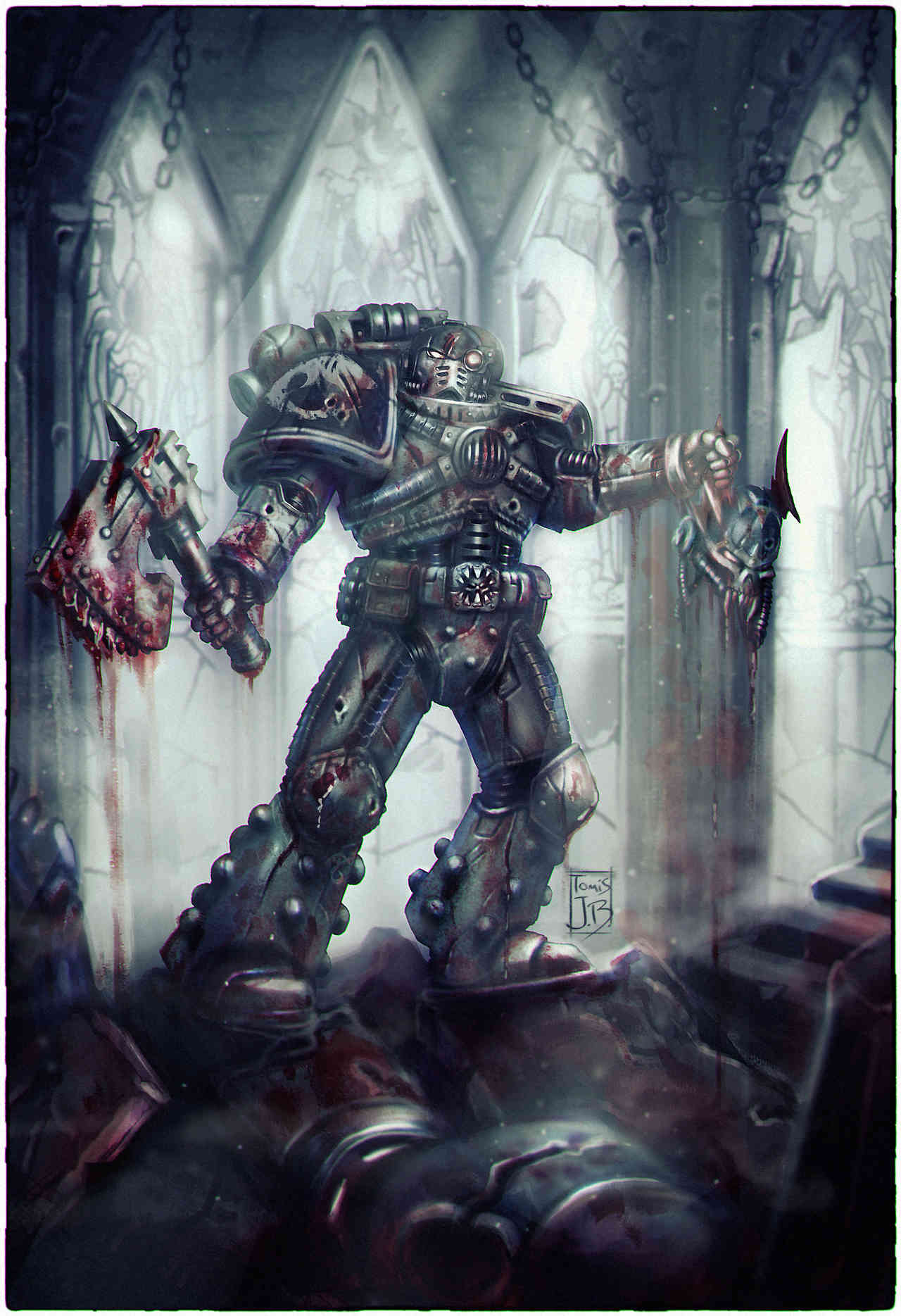 [W40K] Collection d'images : Space Marines - Page 21 Tumblr12