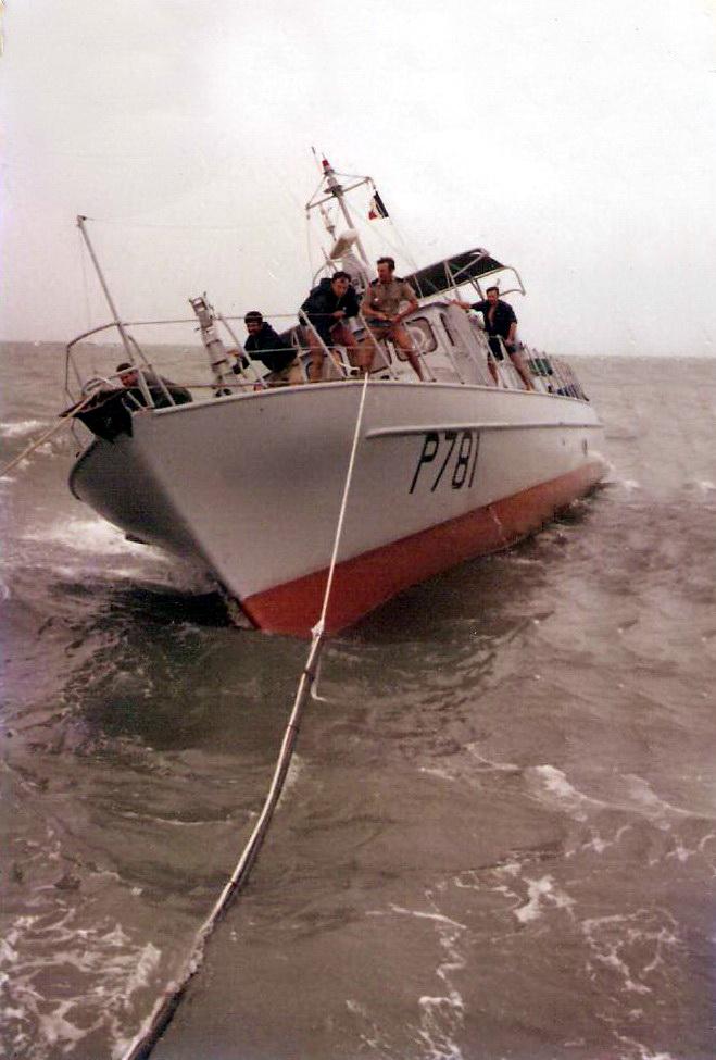 [ Divers Gendarmerie Maritime ] De Guyane aux Antilles - Transit P781 0245