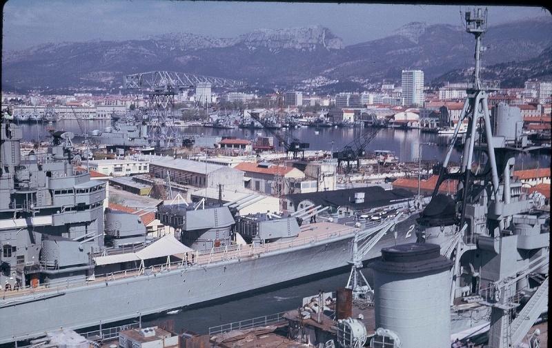 [Les ports militaires de métropole] TOULON au début des années 60 179