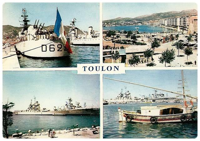 [Les ports militaires de métropole] TOULON au début des années 60 252