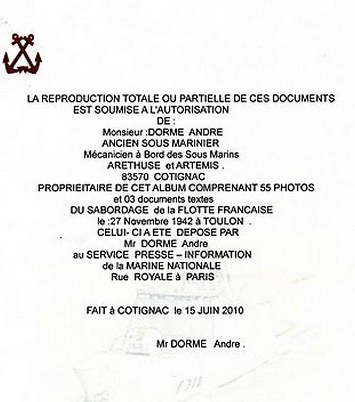 [Histoire et histoires] Toulon : Sabordage de la Flotte (photos) - Page 2 3104