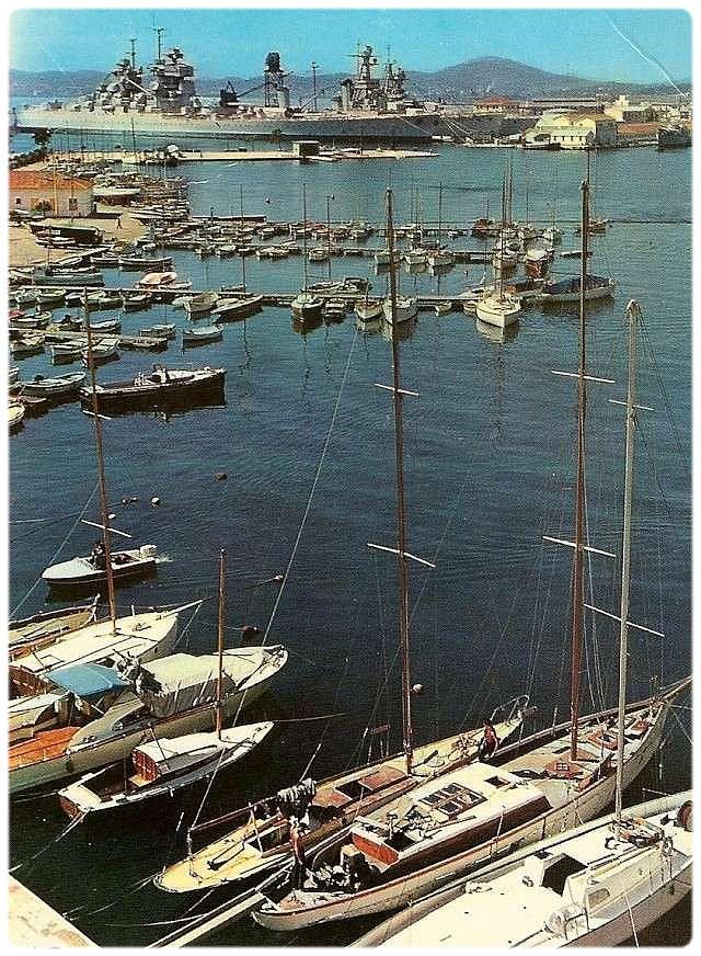 [Les ports militaires de métropole] TOULON au début des années 60 339
