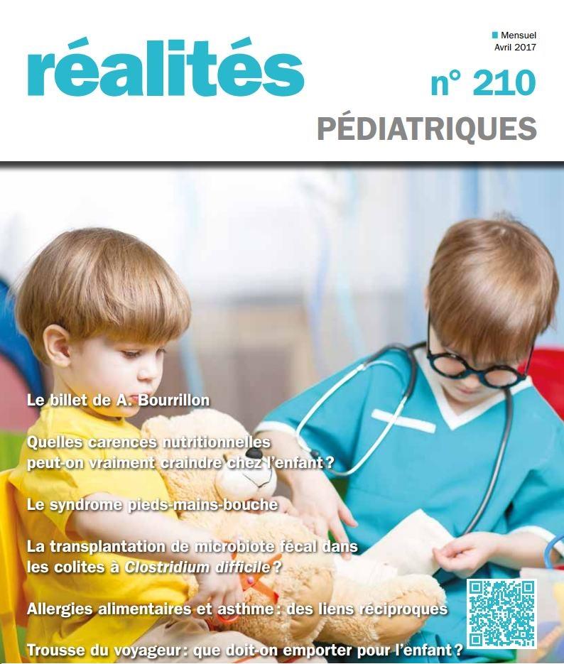 Réalités pédiatriques  Avril 2017 Pedia_10