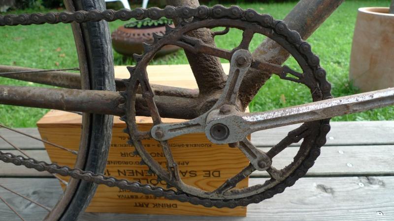 Vélo de course d'avant-guerre Padali10
