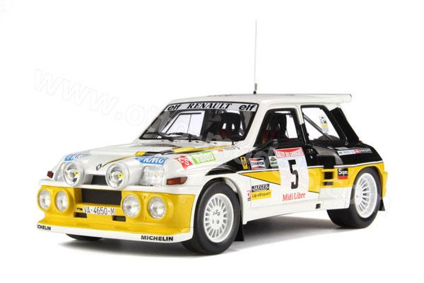 Renault 5 Maxi Turbo Rallye des Guarrigues 1986 259-110