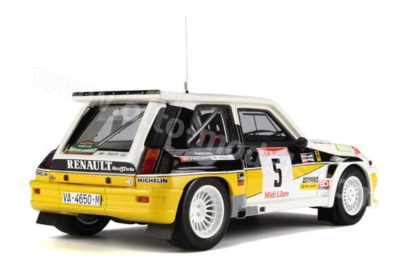 Renault 5 Maxi Turbo Rallye des Guarrigues 1986 259-210