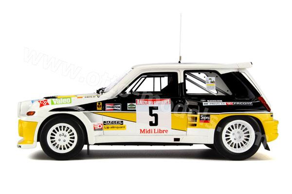 Renault 5 Maxi Turbo Rallye des Guarrigues 1986 259-410