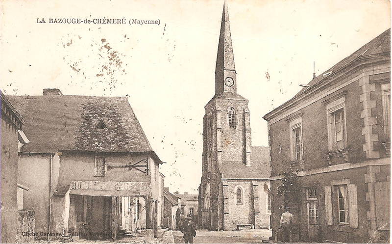 Et si Van Gogh était venu lui-aussi à La Bazouge? (Collages et pastiches) 14803310