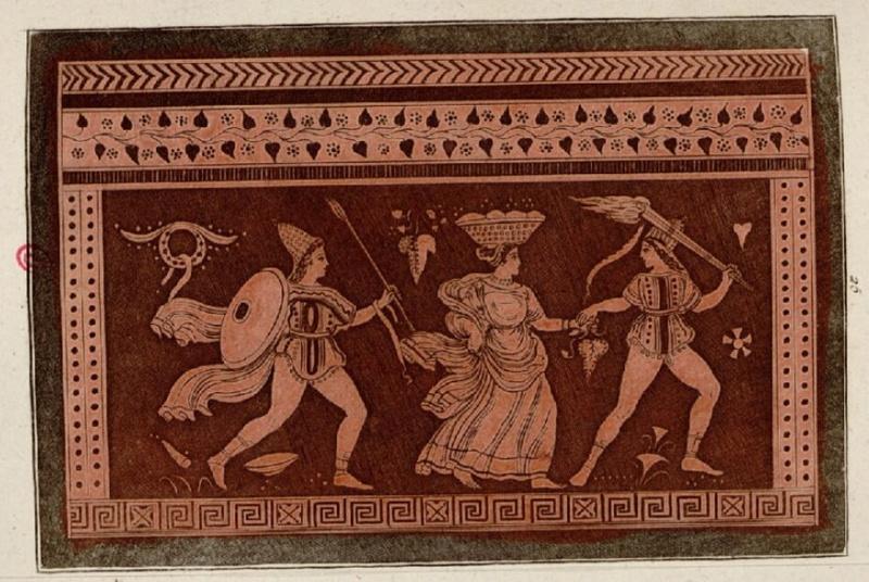 Antiquités étrusques, grecques et romaines - Tome 1 Baccha10