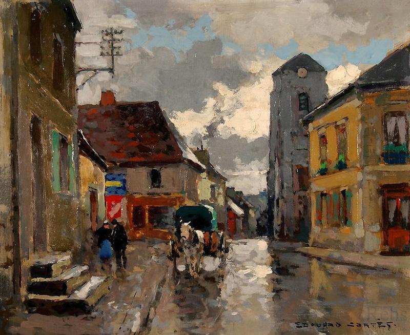 Et si Van Gogh était venu lui-aussi à La Bazouge? (Collages et pastiches) Edouar11