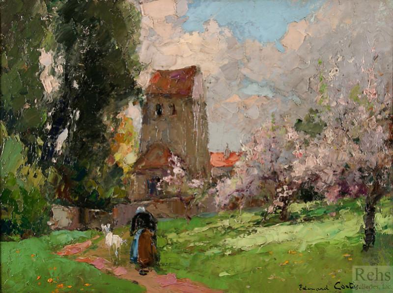 Edouard Léon Cortès, habile artisan pour touriste américain Edouar18