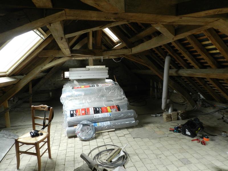 Rénovation d'un grenier en moins de 2 ans Vauvyr41