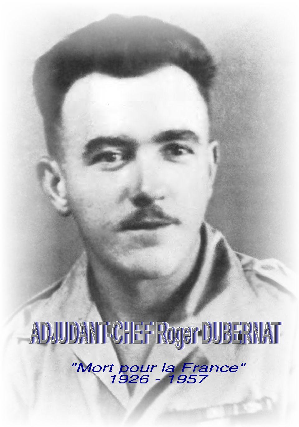 Adjudant-chef Roger DUBERNAT - 17e BCP Dubern20