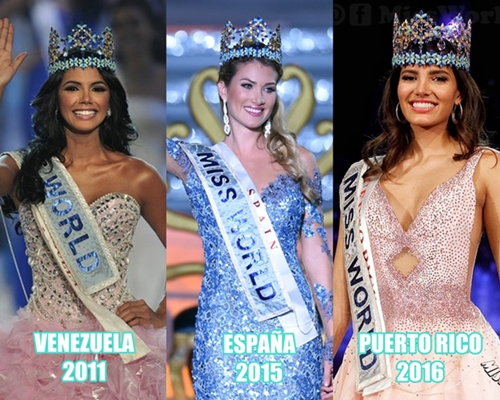 LATINA POWER IN MISS WORLD...!!! 1951-2016 UPDATE*** 113