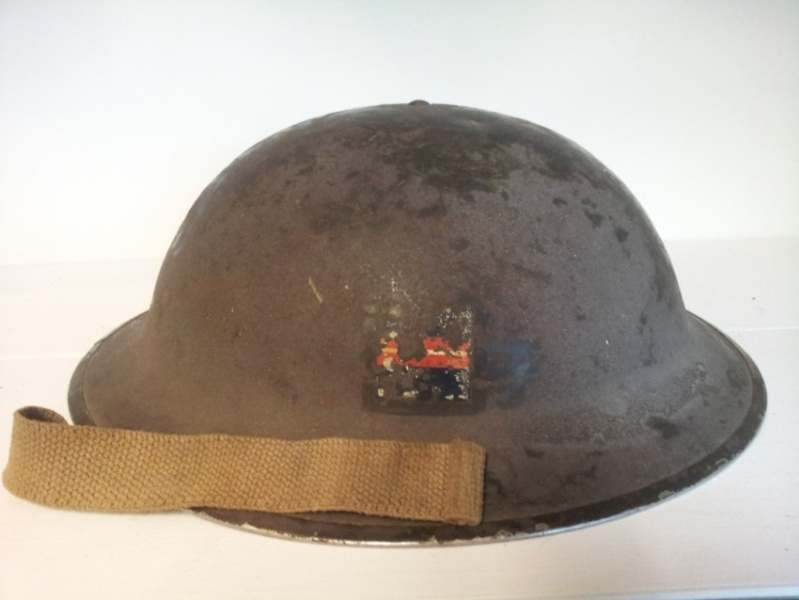 MKII Helmet of  3rd Armoured Regiment  Copie_21