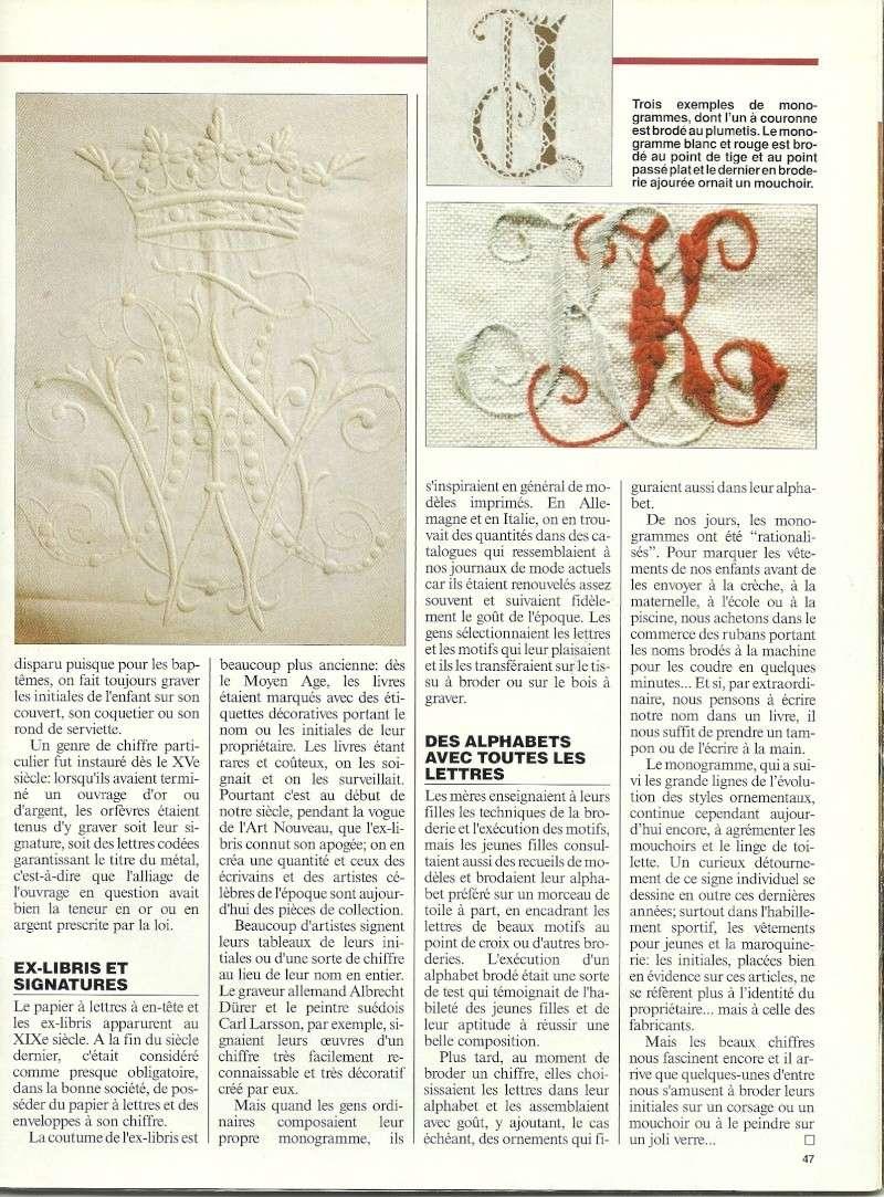 [Article] Le monogramme Dossie29