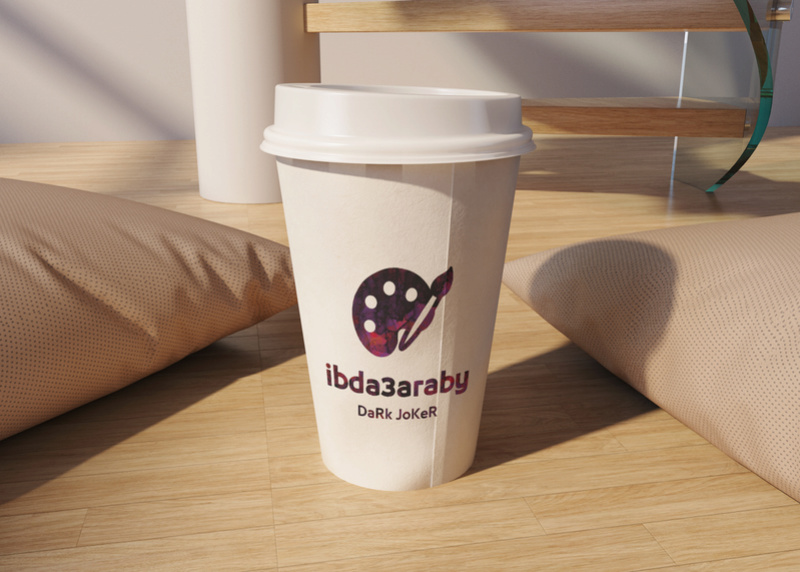 موك اب كوب قهوة - Take away coffee cup mock up Obfjdj10