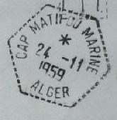 ALGERIE - CAP MATIFOU MARINE 622_0012