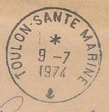 TOULON - SANTE - MARINE A52
