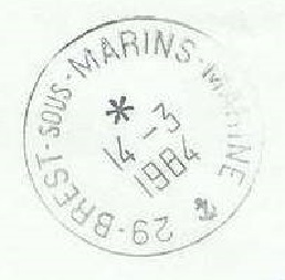 BREST - SOUS-MARINS - MARINE B25