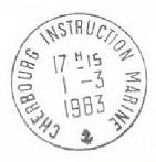 CHERBOURG - INSTRUCTION - MARINE B27