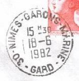 NIMES - GARONS - MARINE B39