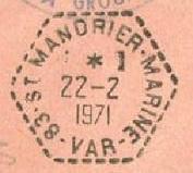 SAINT MANDRIER - MARINE B44