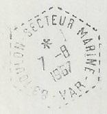 TOULON - SECTEUR - MARINE B52