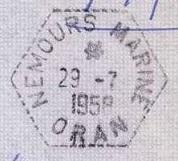 ALGERIE - NEMOURS MARINE - ORAN et TLEMCEN B54