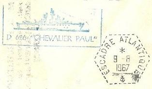 CHEVALIER PAUL (ESCORTEUR D'ESCADRE) B59