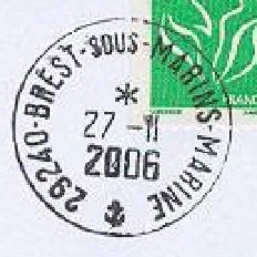 BREST - SOUS-MARINS - MARINE C21