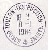 TOULON - INSTRUCTION - MARINE C42