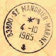 SAINT MANDRIER - MARINE D1110