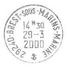 BREST - SOUS-MARINS - MARINE D15