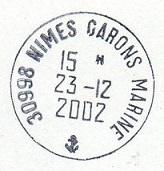 NIMES - GARONS - MARINE D26