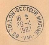 TOULON - SECTEUR - MARINE D33