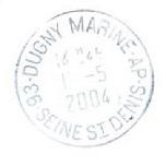 DUGNY - LE BOURGET - MARINE / DUGNY - MARINE E15